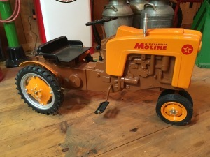 Luther Killam's Pedal Tractor Collection