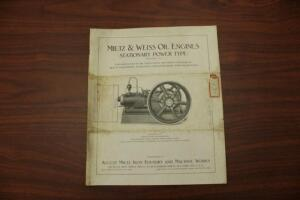 Early Tractor Literature Online Only Auction