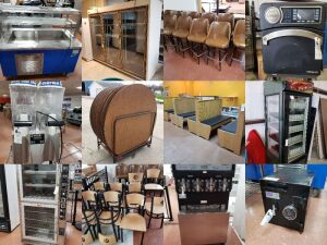 Large Kitchen And Restaurant Equipment Auction