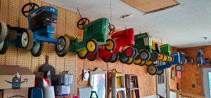 Fisher Pedal Tractor Collection - Originals