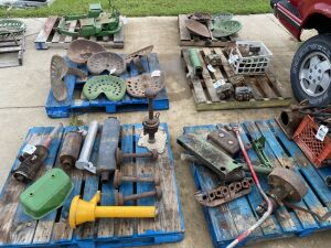 Gordon Hart John Deere Parts and Plows Collection