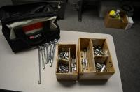 Tool bag With Sockets Lot