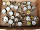 Antique Assorted Pocket Watch Lot