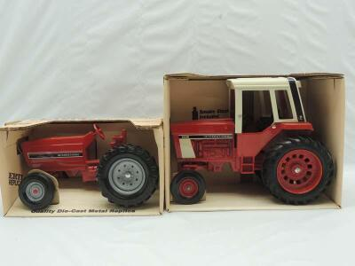 1/16th Ertl International (2)-wide front tractors