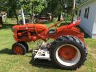 Allis-Chalmers Tractor with Mower Deck