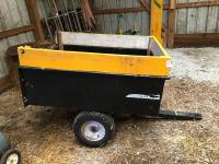 Craftsman Pull-behind 4 Ft Small Trailer