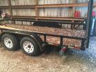 2011 Barlow Flatbed Trailer