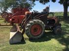 Allis Chalmers WF with Tractomotive Loader Conversion
