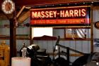Massey-Harris Porcelain Neon Sign