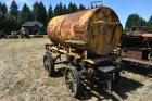 Rivitted tank wagon