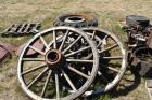 Tires and wagon wheels