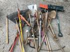 Outdoor Yard Tools Lot