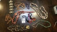 Beaded Necklaces Lot