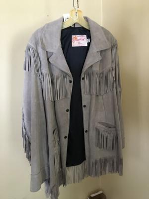 Excelled Suede Jacket w/ Tassels Ladies (18)