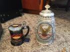 (2) Harley Davidson Collectors Steins Lot