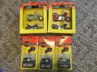 (5) Matchbox Harley Davidson Scale Motorcycles