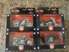 (4) Harley Davidson 1:18 Scale Series 16 Maisto Motorcycles