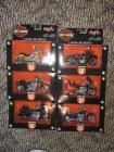 (6) Harley Davidson 1:18 Scale Series 18 Maisto Motorcycles