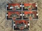 (5) Harley Davidson 1:18 scale Series 7  Maisto Collectable Bikes