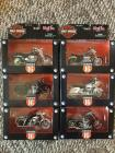 (6) Harley Davidson 1:18 Scale Series 16 Maisto Motorcycles