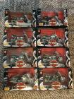 (8) Harley Davidson 1:18 scale Series 2  Maisto Collectable Bikes