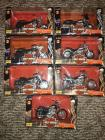 (7) Harley Davidson 1:18 Scale Series 3- 95th Ann Models