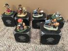(6) Harley Davidson ( Little Cruisers ) Collectibles