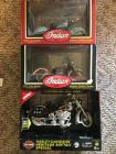 1:10th Scale Die Cast Indian/HD Motorcycles Lot