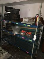 Heavy Duty Rack And Contents Lot