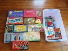 Vintage Toys And Board Games Lot