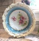 Antique Teal R. S. Prussia Bowl
