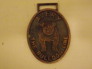 Avery Bulldog Fob