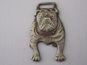 "Avery Bulldog ""Teeth Talk"" Fob"