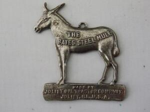 The Bates Steel Mule Fob