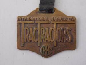 International Harvester TracTracTors Fob