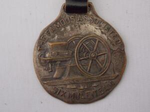 The Famous Associated Six Mule Team Fob