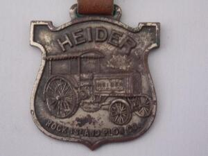 Heider Rock Island Plow Co. Fob