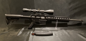 Smith & Wesson M&P 15-22 with 2 Stage Rock River Trigger