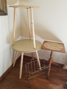(3) Side Tables Lot