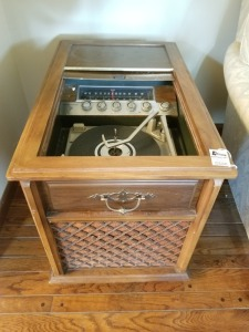 Magnavox Solid State Record Player Cabinet
