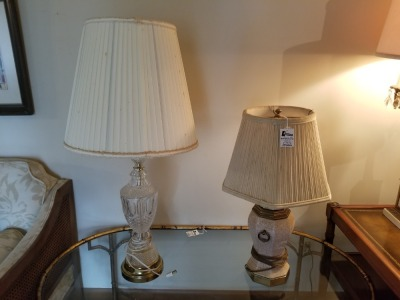 (2) Decorative Lamps