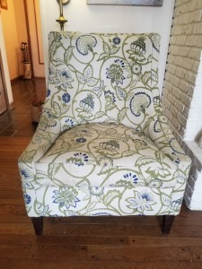 Furniture Row Printed Chair