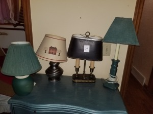 (4) Table Lamps