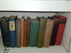 (11) Antique Books