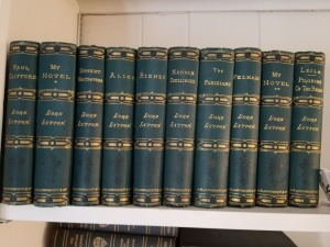 (10) Lord Lytton Books J.B. Lippincott Vol. 1 -10