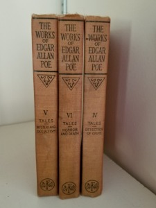 The Works Of Edgar Allan Poe Books (3)