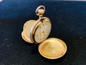 14K Gold Elgin Pocket Watch 31.5 G