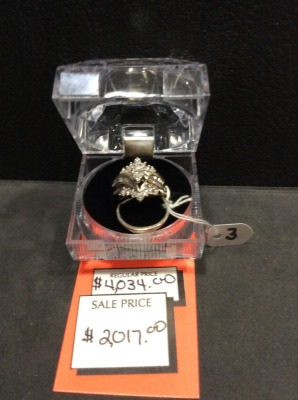 Ladies Marquis Natural Diamond Wedding Set
