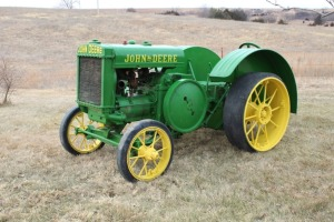 1927 John Deere Industrial D with Hard Rubber