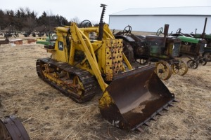 John Deere 40 Crawler with Henry Loader